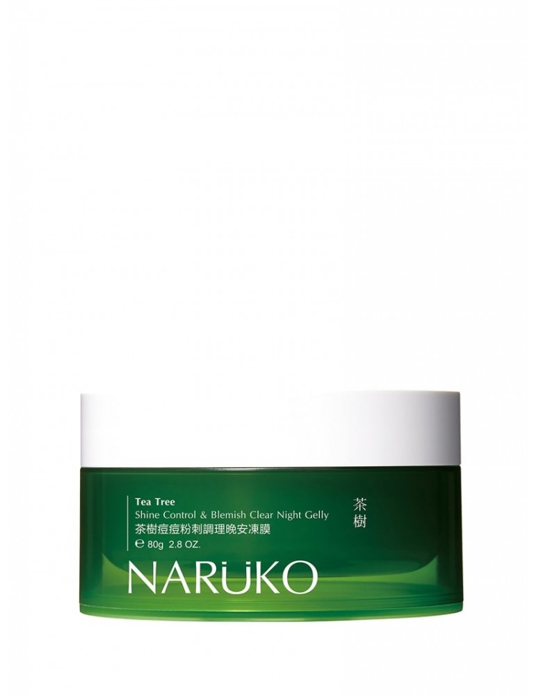 Naruko Tea Tree Oil Out Night Gelly