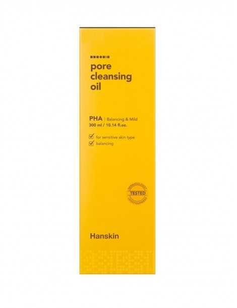 Hanskin Pore Cleansing Oil PHA Box