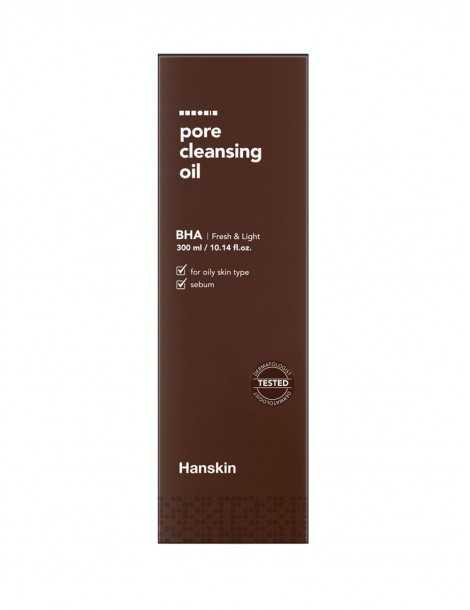 Hanskin Pore Cleansing Oil BHA Box