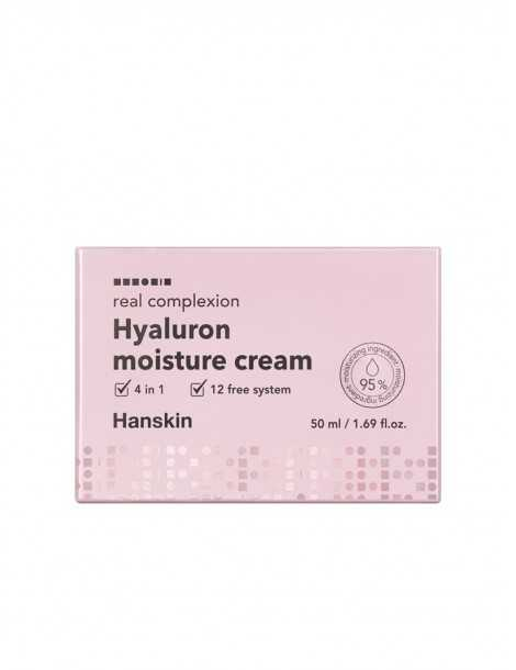 Hanskin Real Complexion Hyaluron Moisture Cream Box
