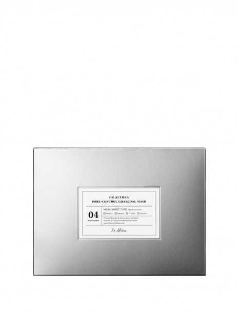 Dr.Althea Pore Control Charcoal Mask Box