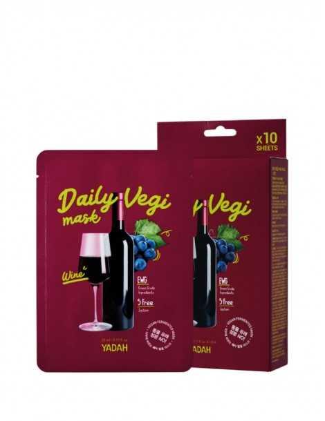 Yadah Daily Vegi Mask - Wine Box