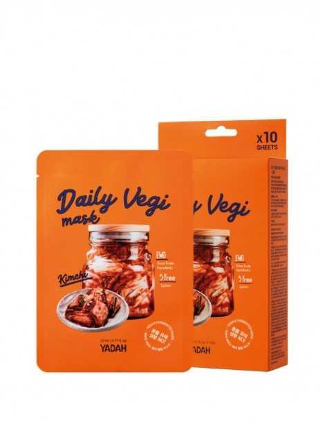 Yadah Daily Vegi Mask - Kimchi Box