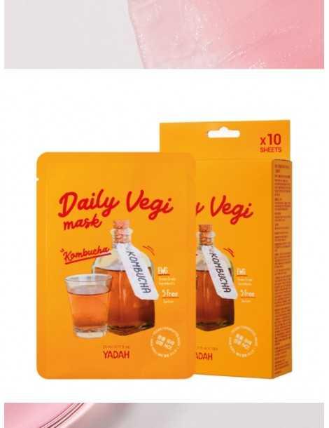 Yadah Daily Vegi Mask - Kombucha Box