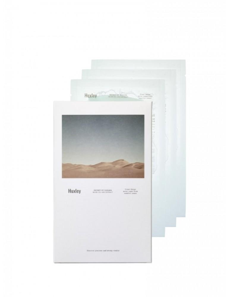 Huxley Secret of Sahara Oil Extract Mask Pack (3u)