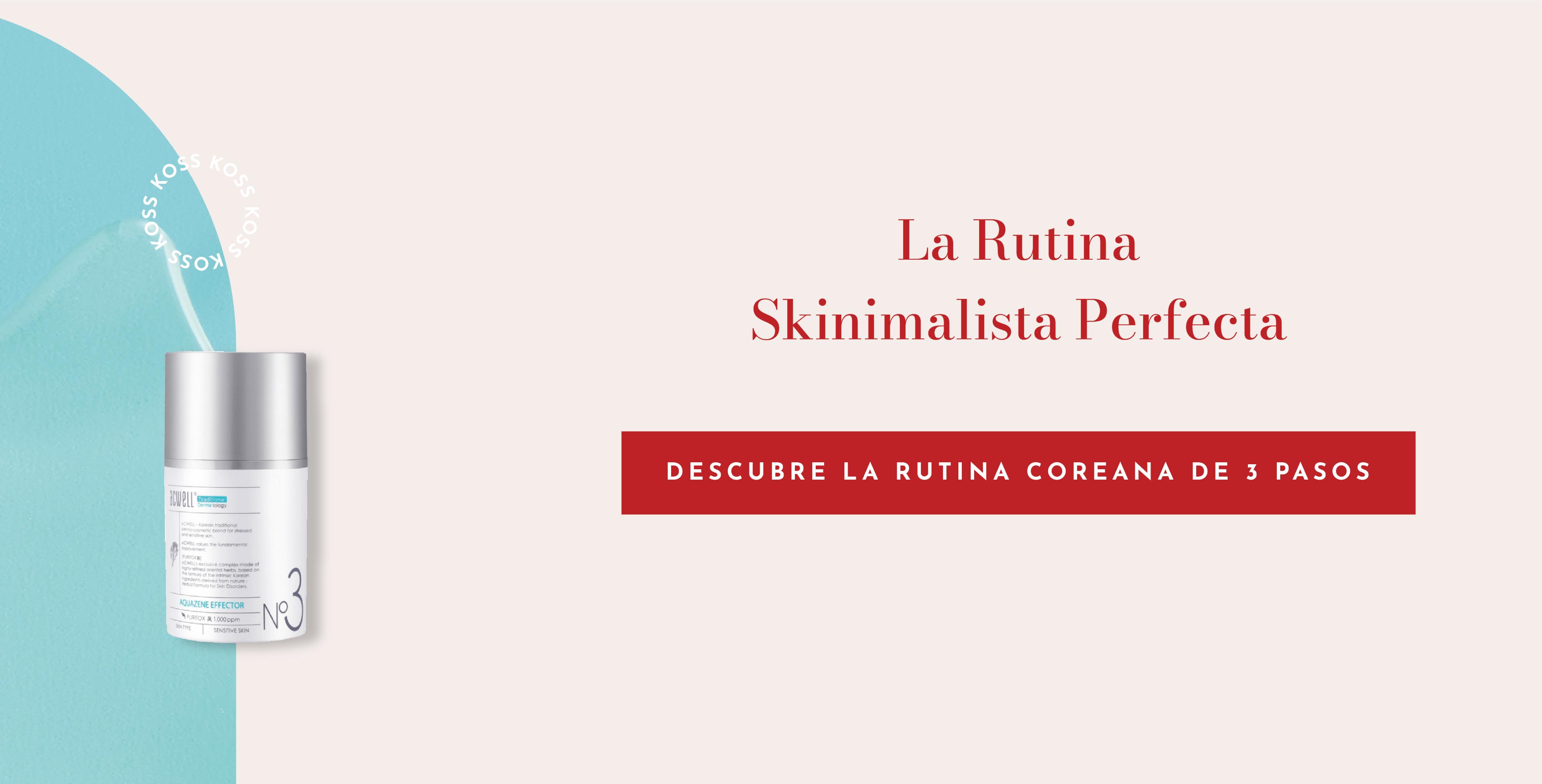 Skinimalismo, ¿cuidar la piel con el mínimo de productos es posible?